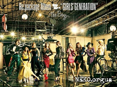 Girls' Generation (SNSD) - GIRLS' GENERATION ~The Boys~ (Repackaged 2011)