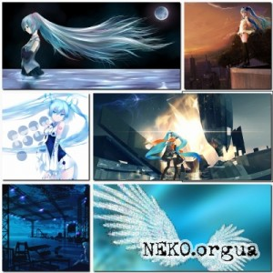 Amazing Hatsune Miku Anime Wallpapers